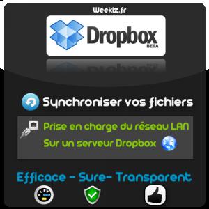 Dropbox, efficace, sure, et transparent !