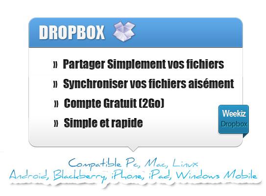 astuce dropbox