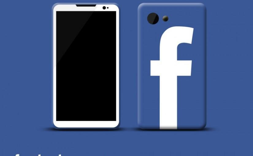 Un smartphone inventé par facebook