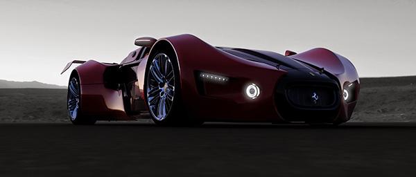 concept car ferrari celeritas 2.0