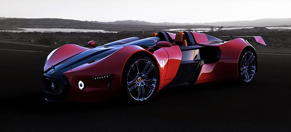 concept voiture ferrari