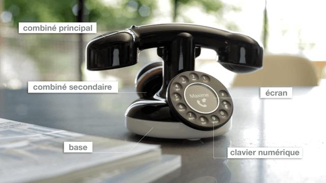 téléphone design vintage