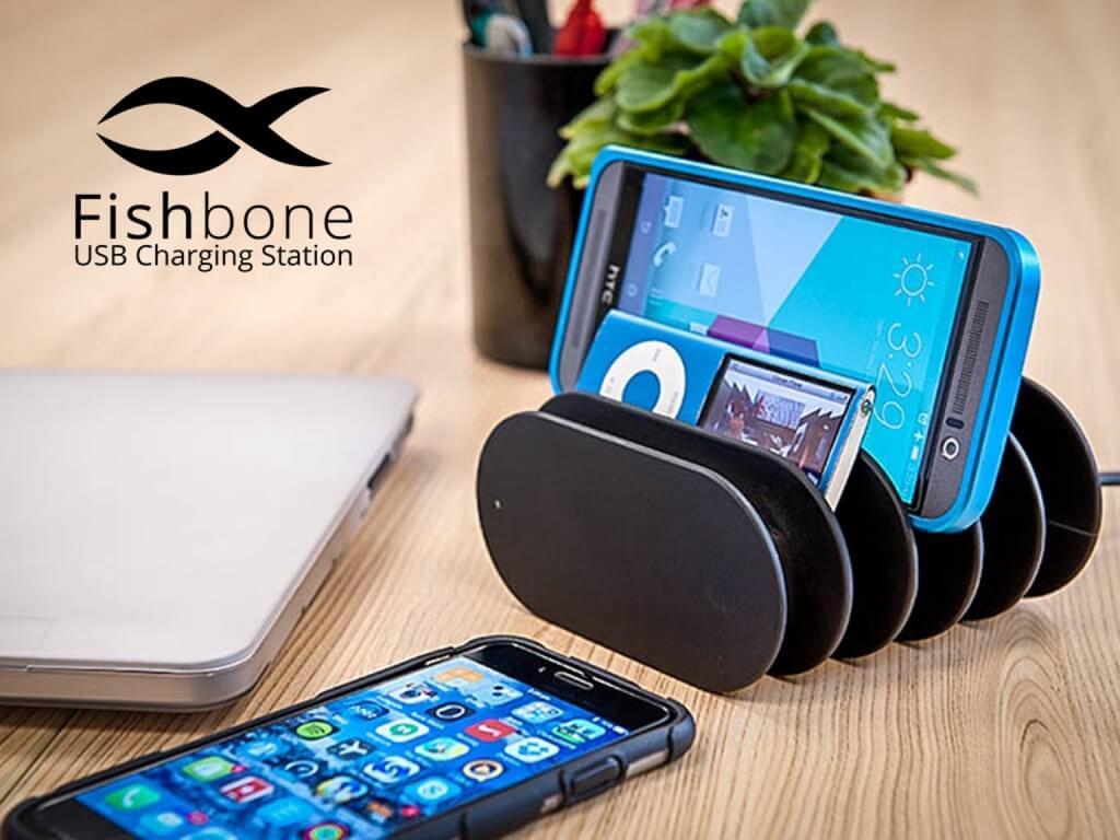 station de recharge tablette et smartphone