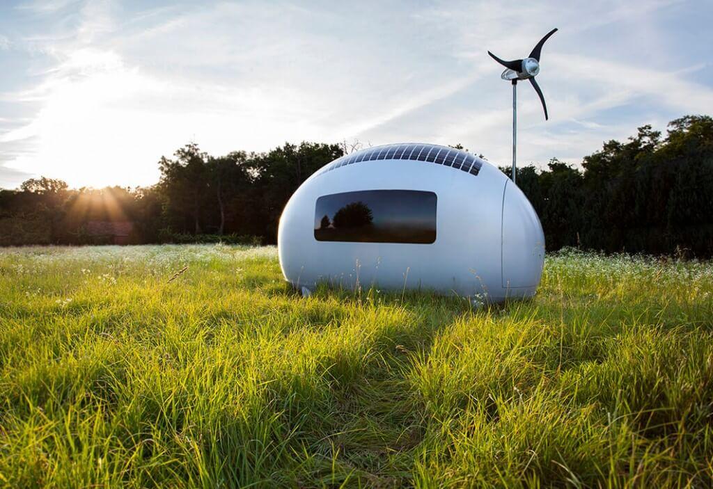 Ecocapsule, maison portative