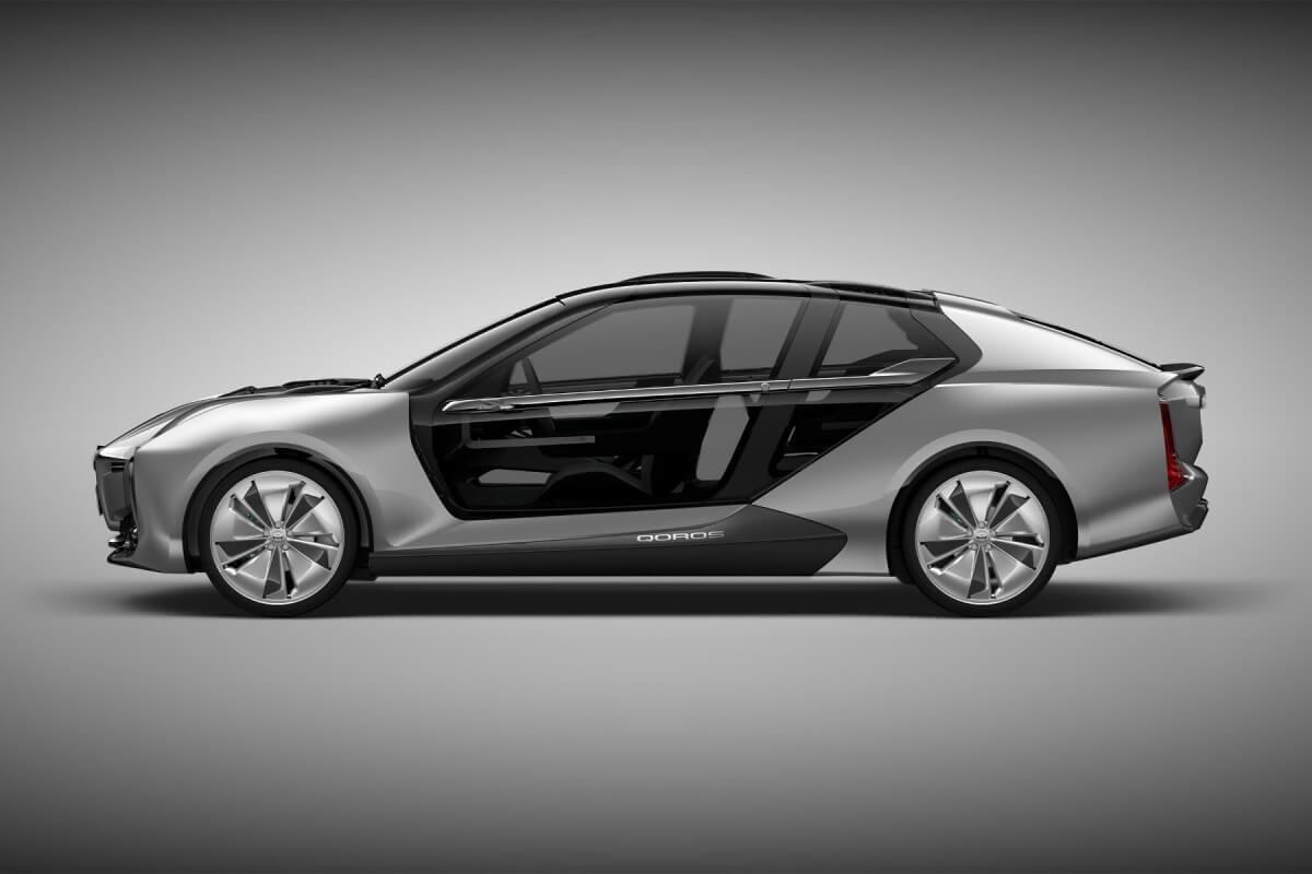 Concept car électrique Qoros